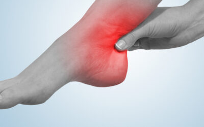 A common cause of ankle pain